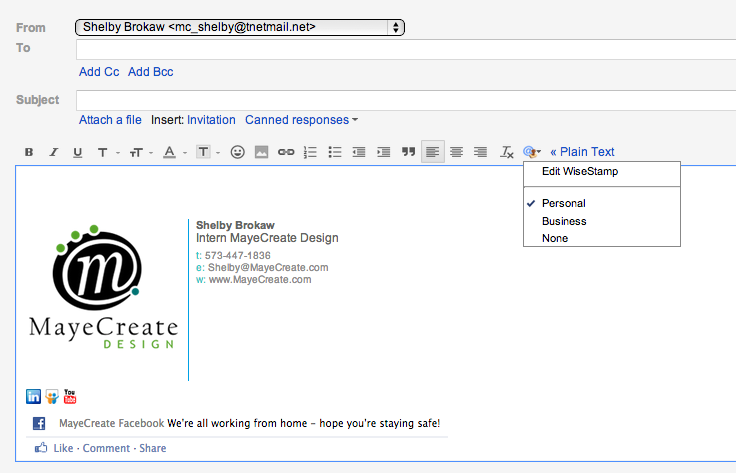 Use Your Email Signature as a Marketing Tool.