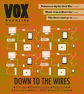 The April 11, 2013 issue of Vox Magazine.